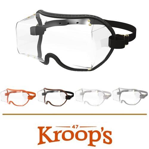 [KROOPS] 크룹스 Over The Eye Clear Lens (오버디아이 클리어렌즈, 아시안핏)-안경착용자용 / 레저용 고글 (눈보호구)