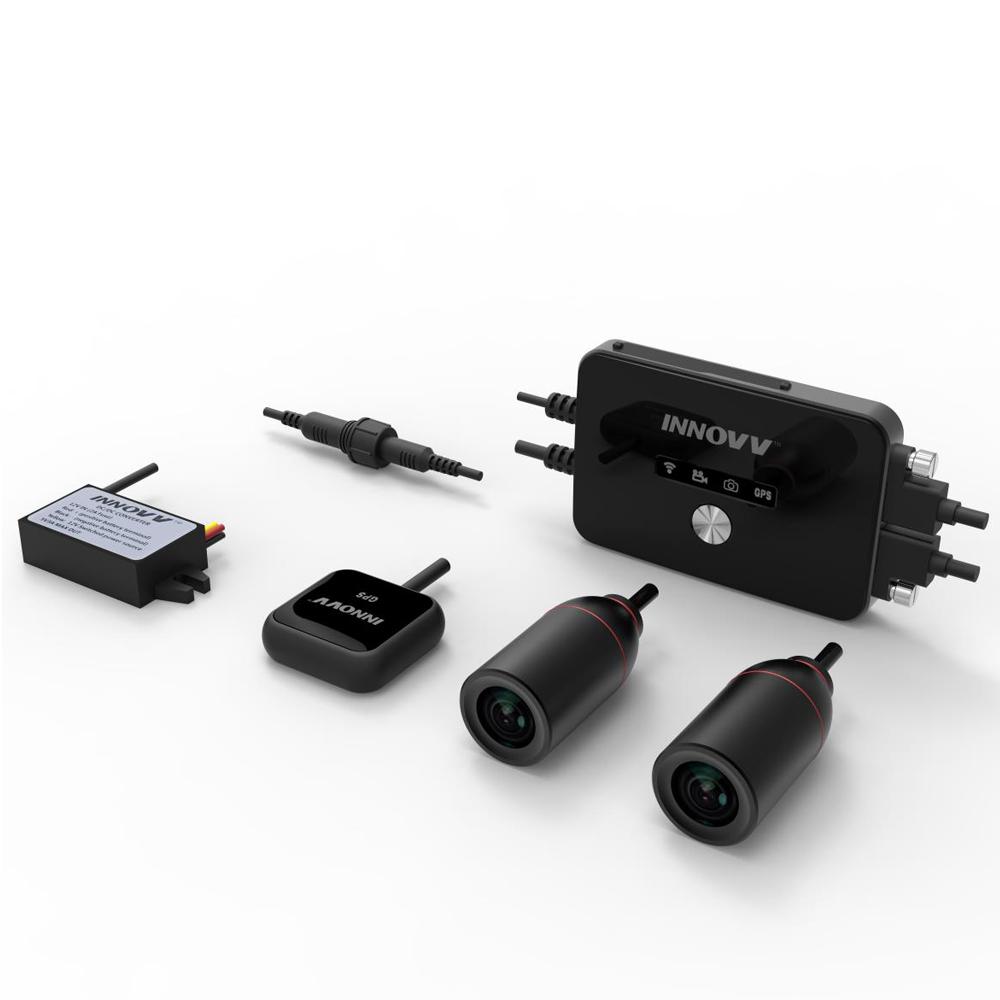 [INNOVV] 이노브 K2 64G 2채널 모터사이클 블랙박스(64G메모리포함)