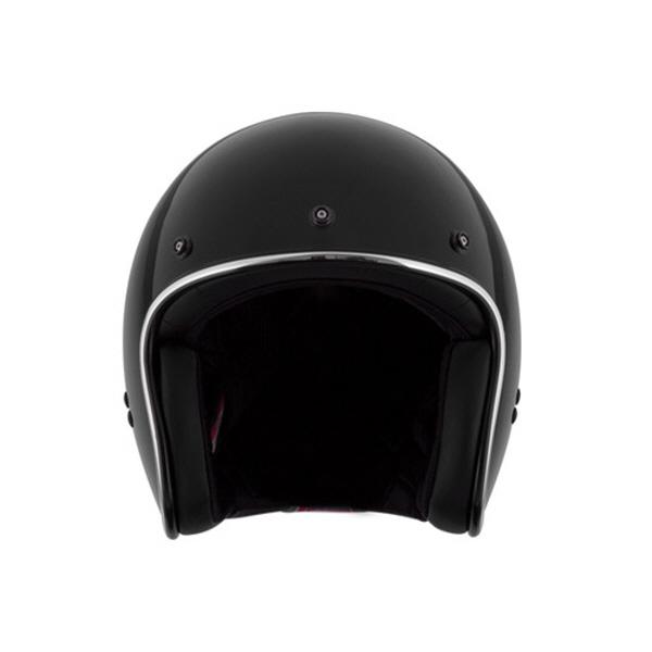 [SOL] AO-1G 블랙 클래식 오픈페이스 헬멧