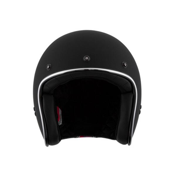 [SOL] AO-1G 무광 블랙 클래식 오픈페이스 헬멧