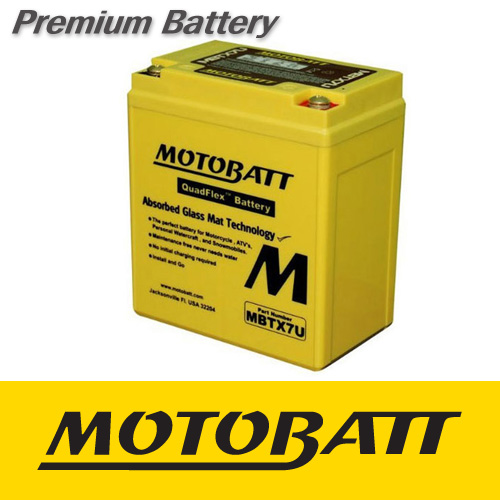 [MOTOBATT] 모토뱃 AGM 배터리 MBTX7U 혼다 CB400SS 전연식