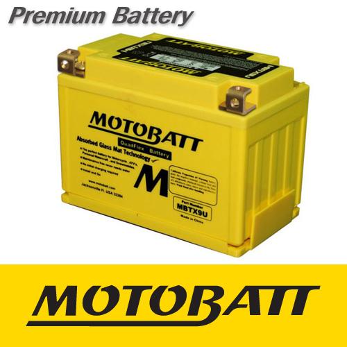 [MOTOBATT] 모토뱃 AGM 배터리 (MBTX9U_YTZ12S) 혼다 VTR1000F (1997-2000)