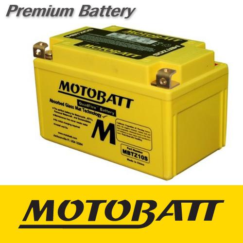 [MOTOBATT] 모토뱃 AGM 배터리 (MBTZ10S) 야마하 MT-09